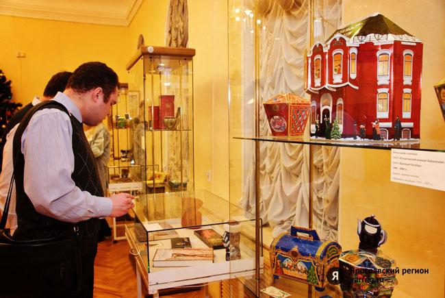 В Ярославле открылась выставка кондитерских упаковок