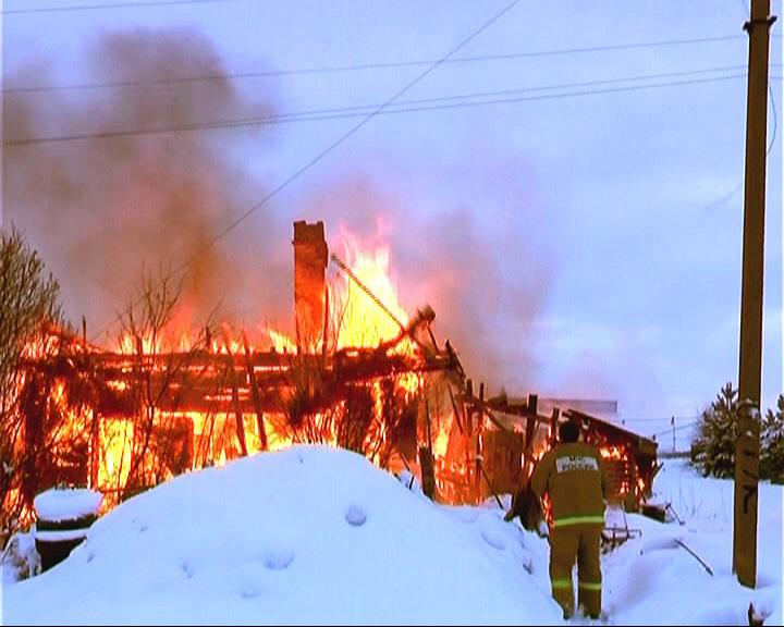 Дом сгорел, и восстановлению не подлежит