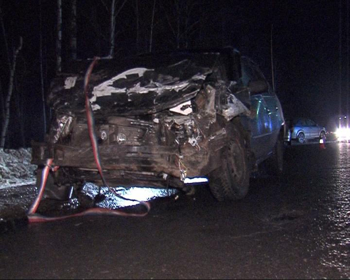 Серьезная авария на Рыбинской трассе