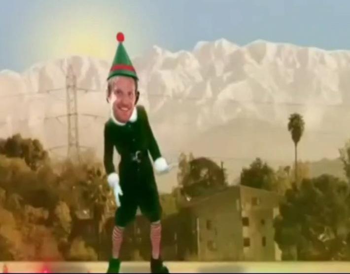 Стэффан Кронваль поздравляет всех с Рождеством