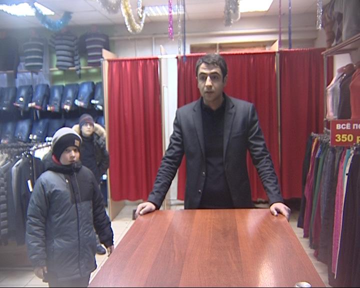 Продажа одежды с олимпийской символикой