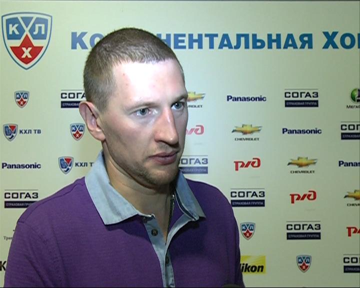 Виталий Колесник вошел в число лучших хоккеистов Казахстана