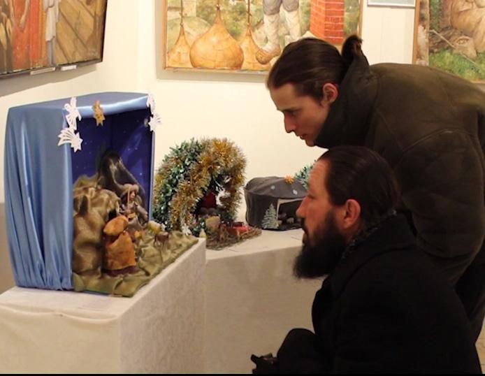 В Угличе открылась выставка вертепов