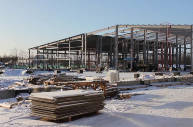В Угличе идет строительство нового предприятия