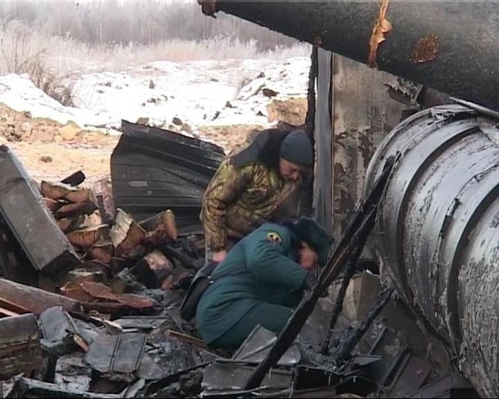 Дотла выгорел завод