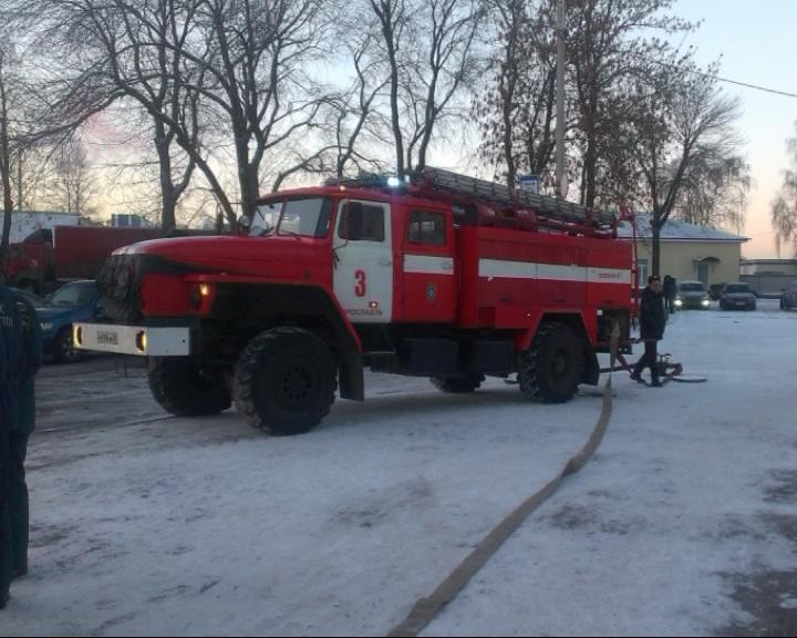 Утром в здании Московского вокзала был успешно потушен пожар, правда, условный
