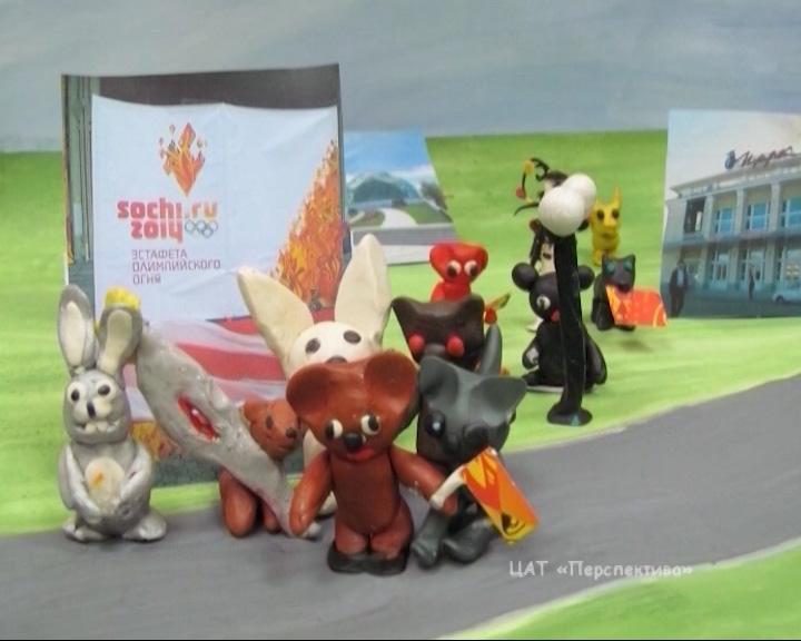 Дети создали мультфильм об Олимпиаде