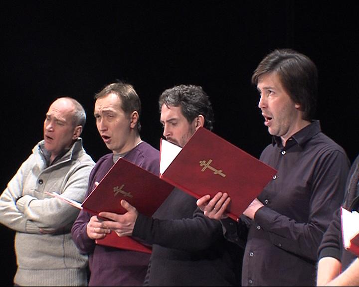 Праздничный Патриарший мужской хор с Волковском театре