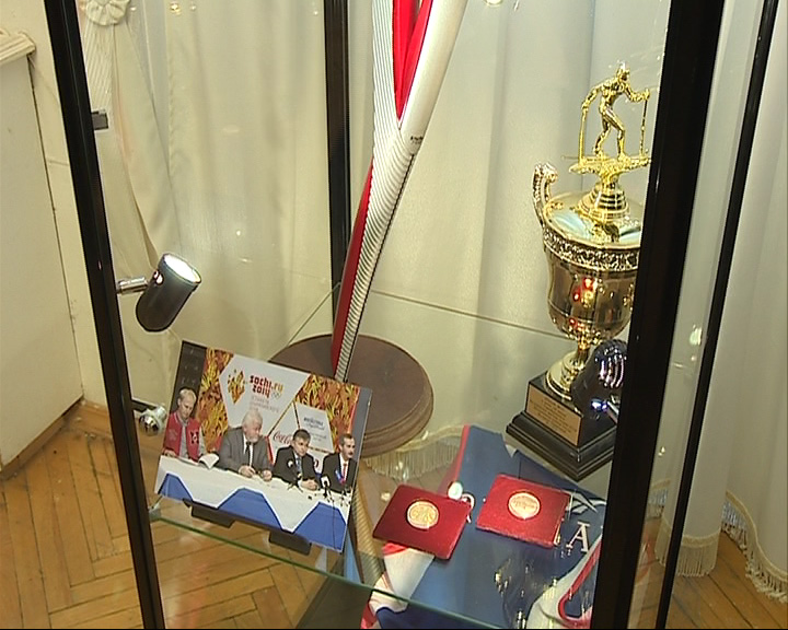 Открылась выставка, посвященная Олимпиаде в Сочи