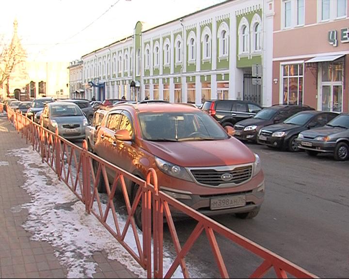 Парковка в центре Ярославля может стать платной
