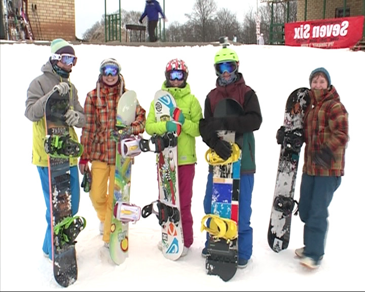 В Тутаеве на «Николиной Горе» открылся новый сноуборд-парк
