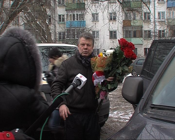 Петр Воробьев прощается с болельщиками