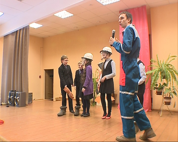 Школьников учат основам электробезопасности