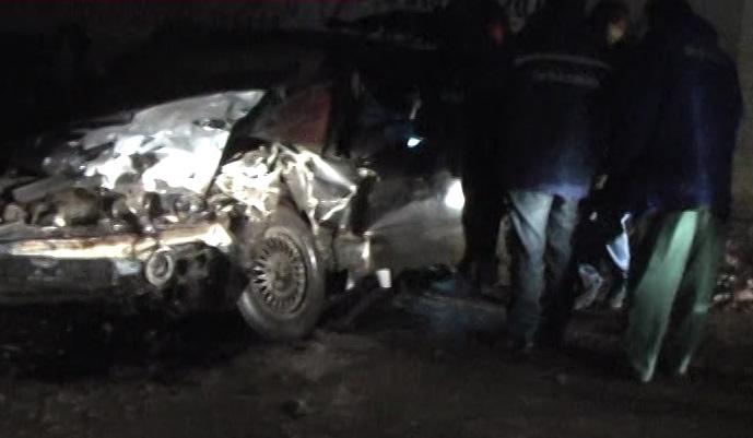 Водитель «BMW» оказался зажат в кресле
