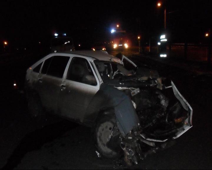 Столкновение было настолько сильным, что водитель скончался на месте