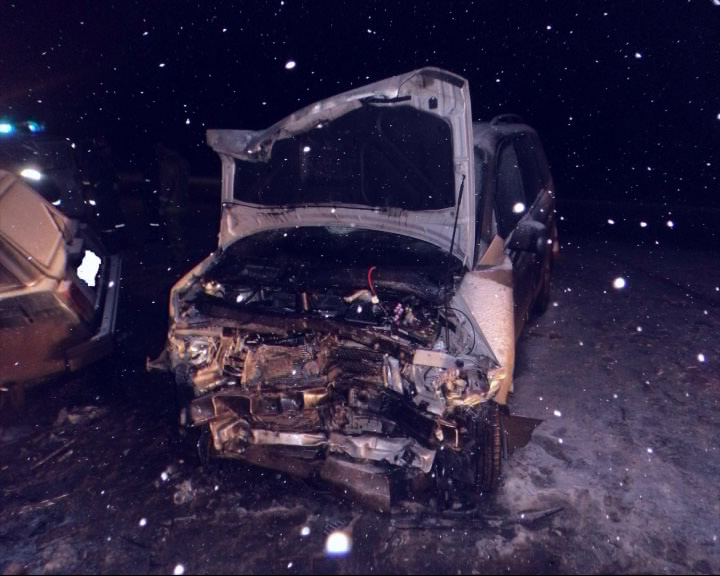 Шофер и трое пассажиров «Жигулей» погибли на месте