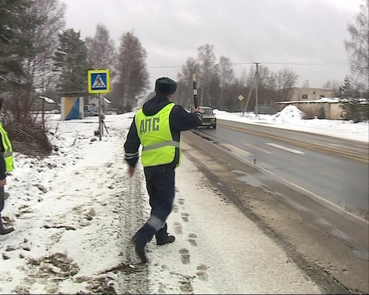 Сотрудники ГИБДД на загородных трассах ужесточили контроль за скоростным режимом