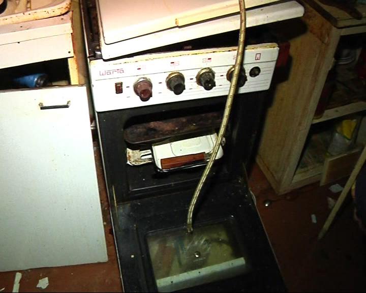 В квартире произошел взрыв бытового газа