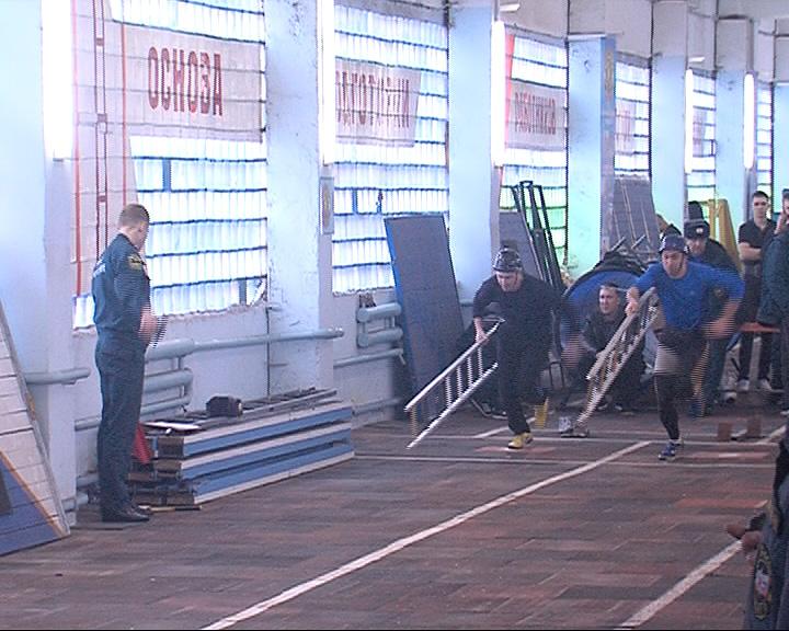 Среди ярославских спасателей состоялся областной спортивный чемпионат