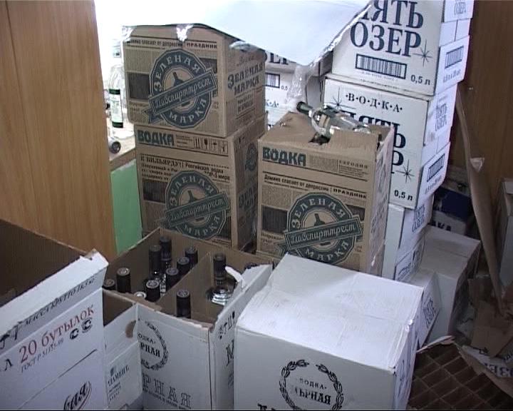 Конфисковали более 3 тонн контрафактного алкоголя