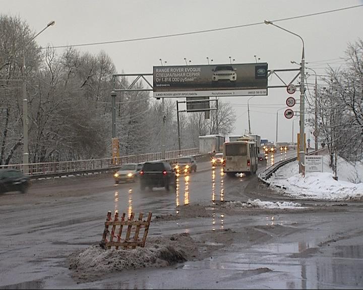 Октябрьский мост через Волгу снова закрывают