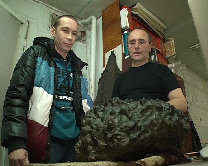 Ярославец обнаружил метеорит