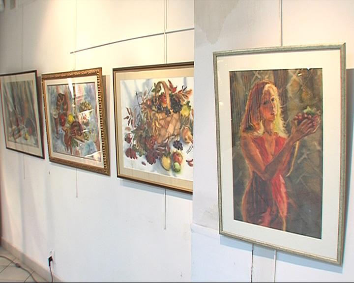 Первая персональная выставка Ольги Чуриной
