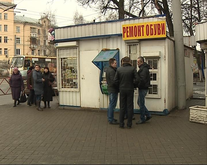 В Ярославле продолжают сносить ларьки