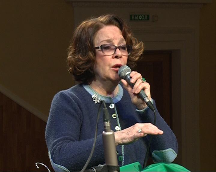 Лариса Голубкина выступила на сцене филармонии