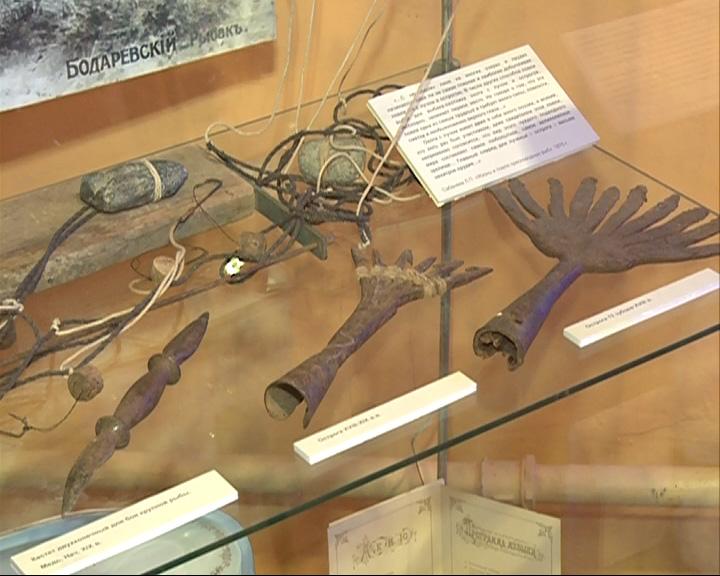 Открылась выставка «10 тысяч лет Ярославской рыбалки»