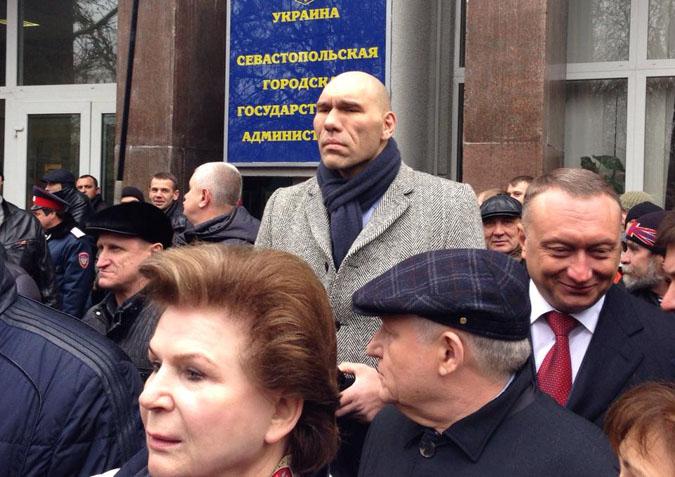 Валентина Терешкова прибыла в Севастополь в составе делегации Госдумы РФ
