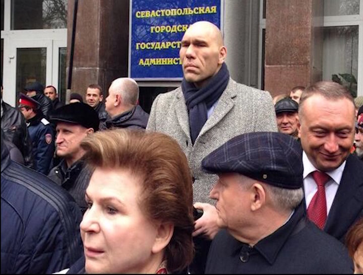 Валентина Терешкова отправилась в Крым