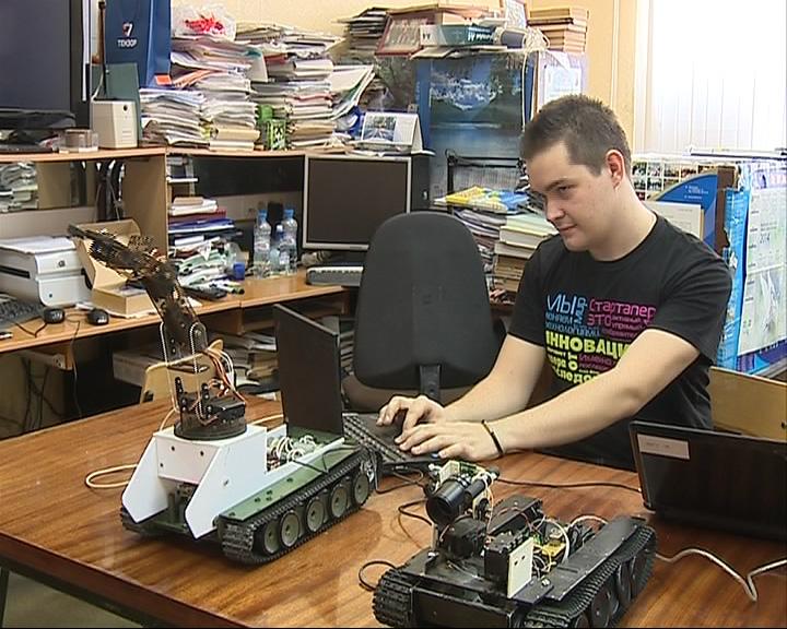 Изобретатель робота удостоен президентской премии