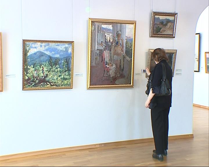 Открылась выставка, посвященная Крыму