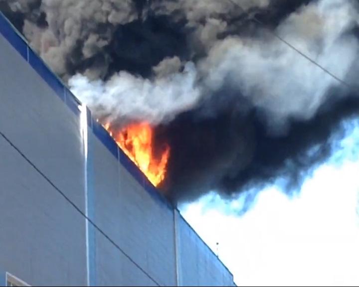 В Переславле горел спортивный комплекс