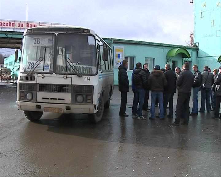 Утром 78-е маршрутки не вышли на городские дороги
