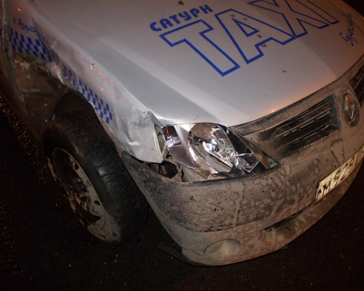 В Ярославле растет количество аварий с участием такси