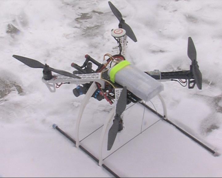 Вертолет для аэрофото- и видеосъемки