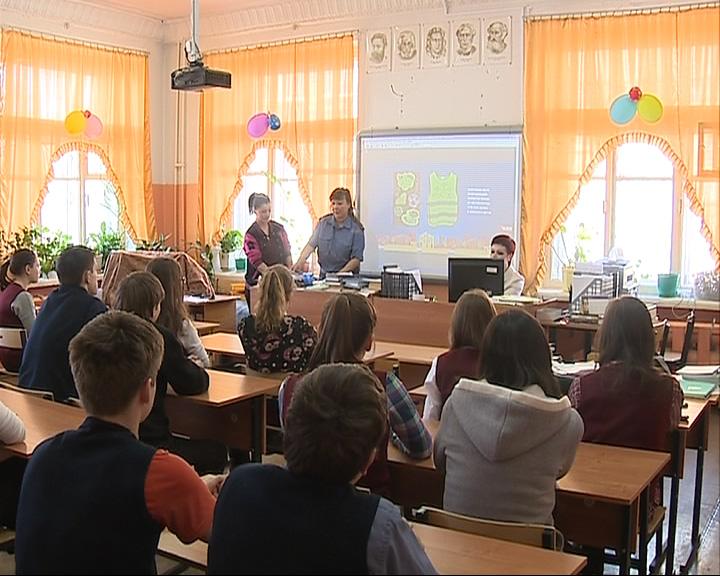 В школах проходит акция «Притормози»