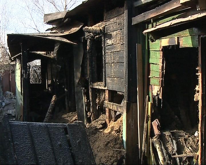 Пожар в Ярославле унес жизнь человека