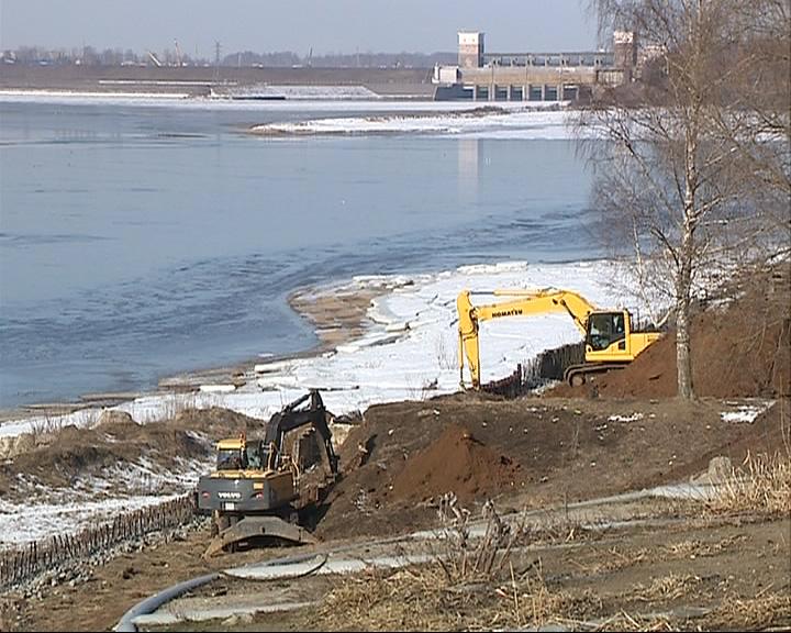 В Рыбинске начали реставрировать набережную