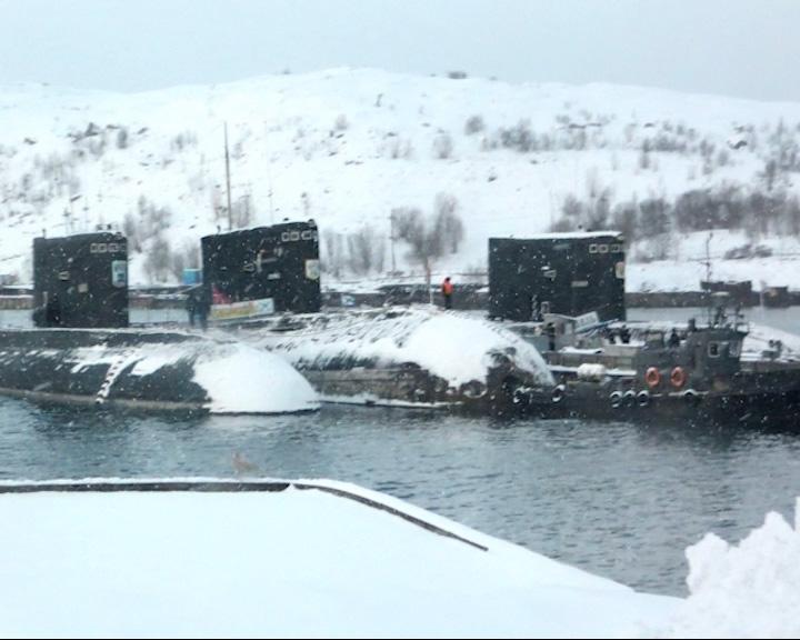 Ярославская делегация вернулась Полярного, где военную службу несет подводная лодка «Ярославль»