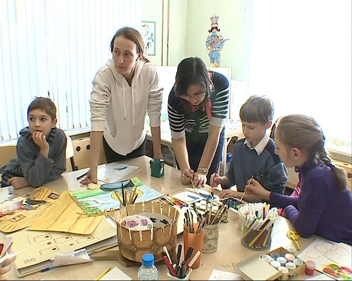 Дети снимают мультфильм о Сергии Радонежском