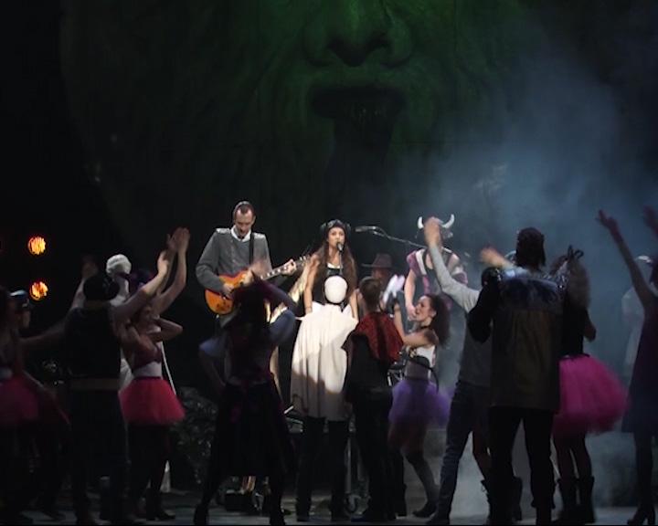На сцене Волковского театра большой капустник