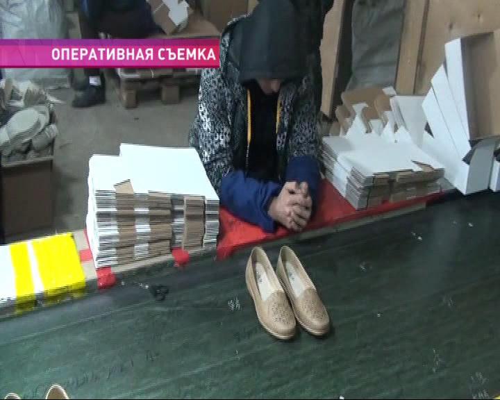 В Ростовском районе обнаружено подпольное производство обуви