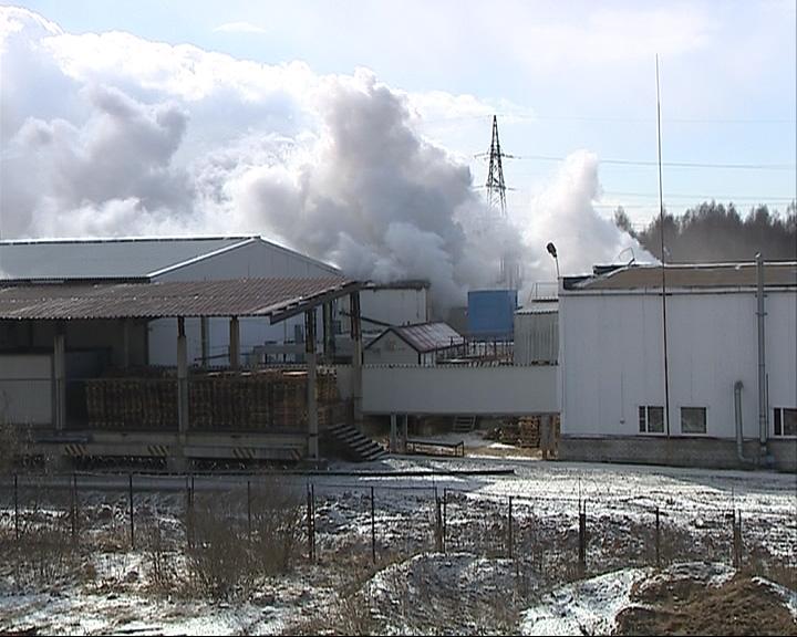 Пожар на заводе по производству мороженого