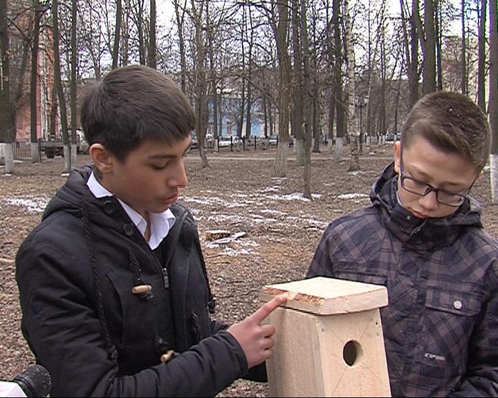Подведение итогов конкурса «Подари птице дом»