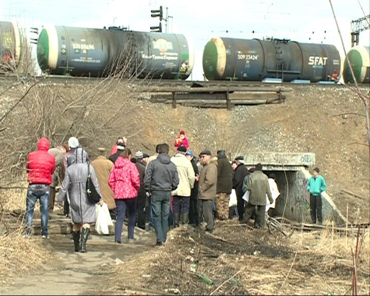 Жители Кармановского требуют вернуть тоннель