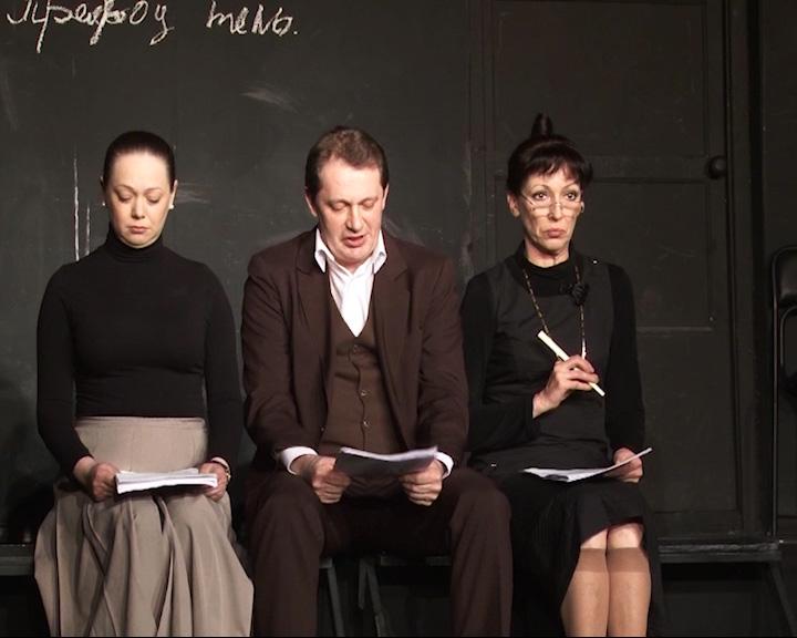 Волковцы представили три эскиза спектаклей: «Анна Каренина», «Русские ночи» и «Мелкий бес»