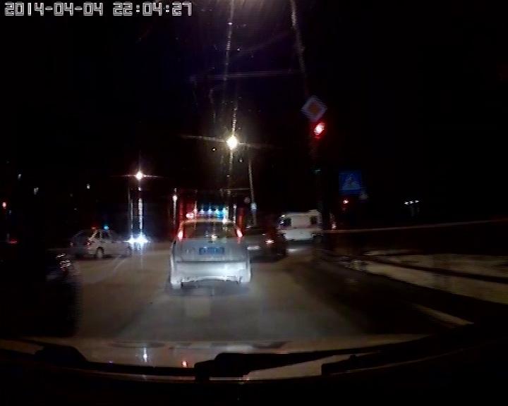 20 минут полицейские преследовали пьяного водителя